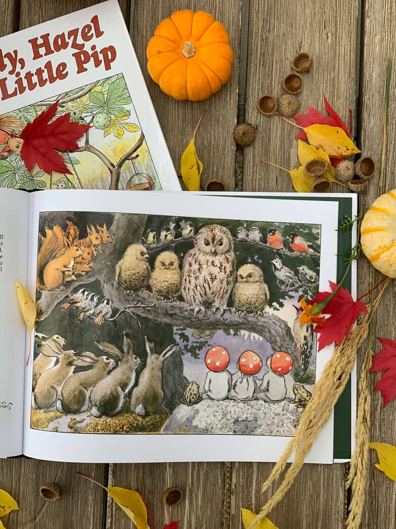Children autumn inspired books
