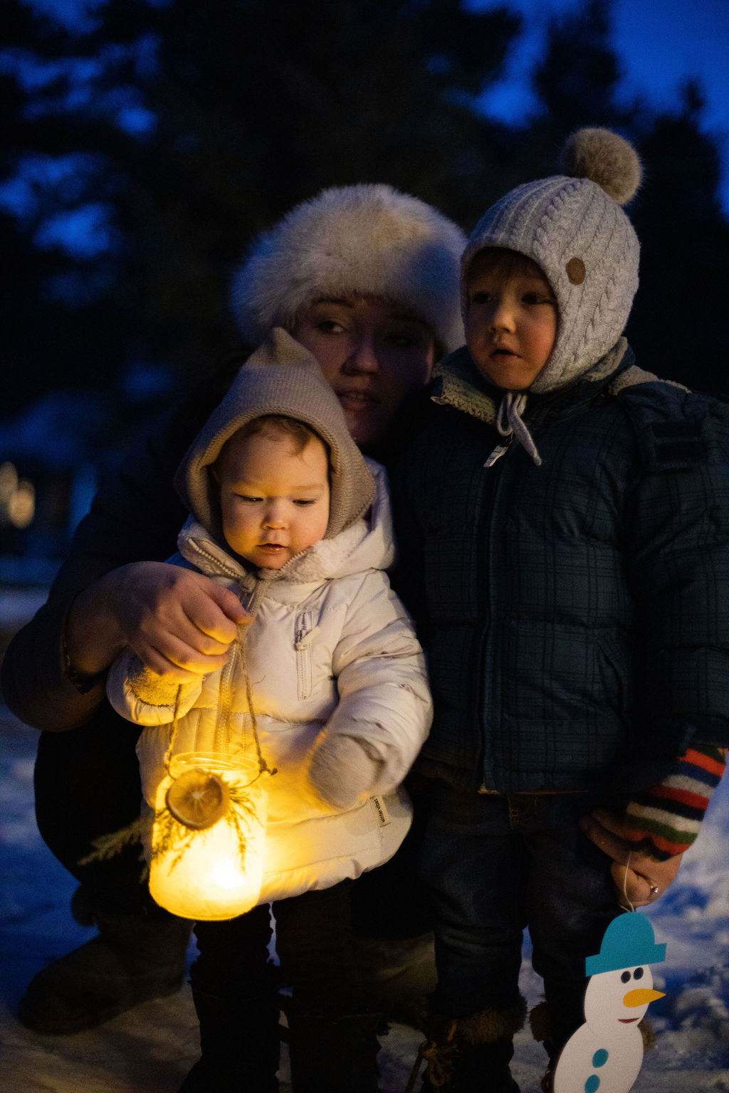 Winter Solstice festival at Real Red Riding Hoods forest school