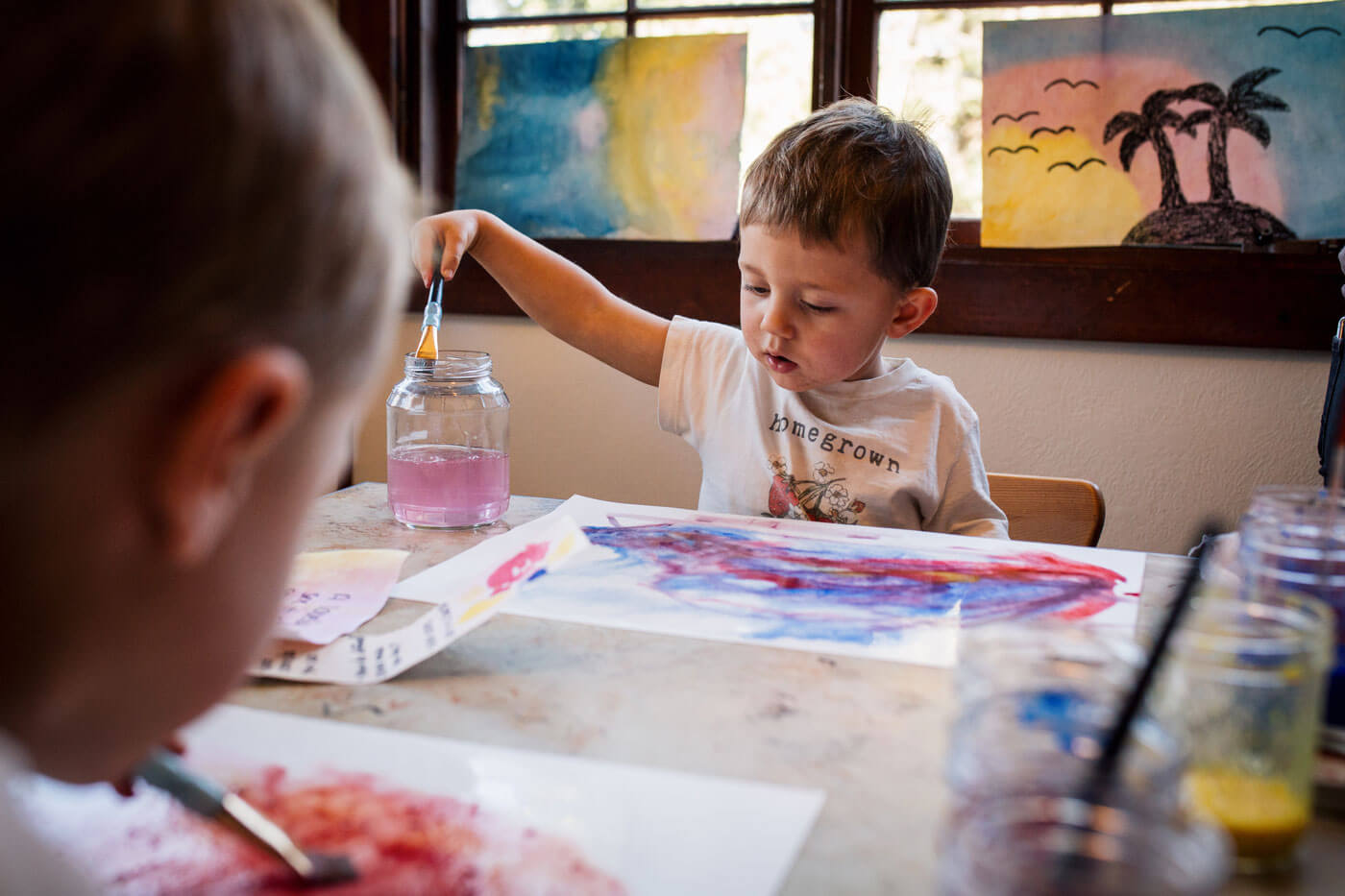 Waldorf inspired art class for children Colorado Springs