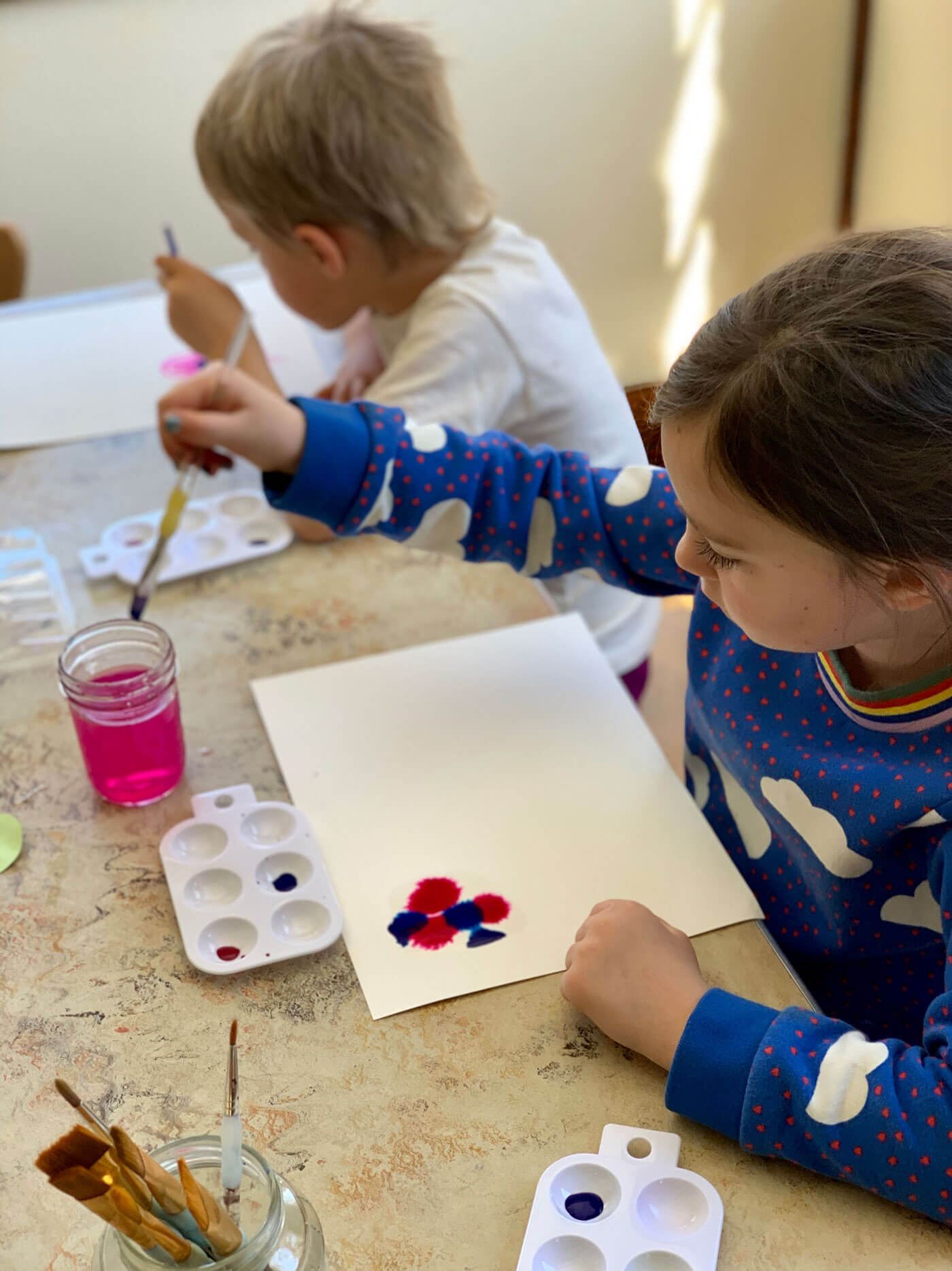 Waldorf inspired art class for children Colorado Springs