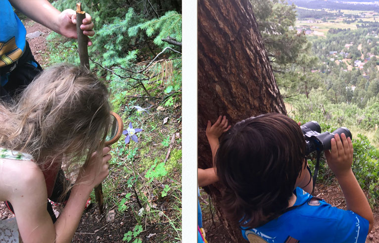 Outdoor program and hiking groups for children Colorado Springs