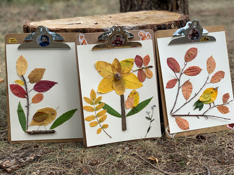 fall leaves crafts for children