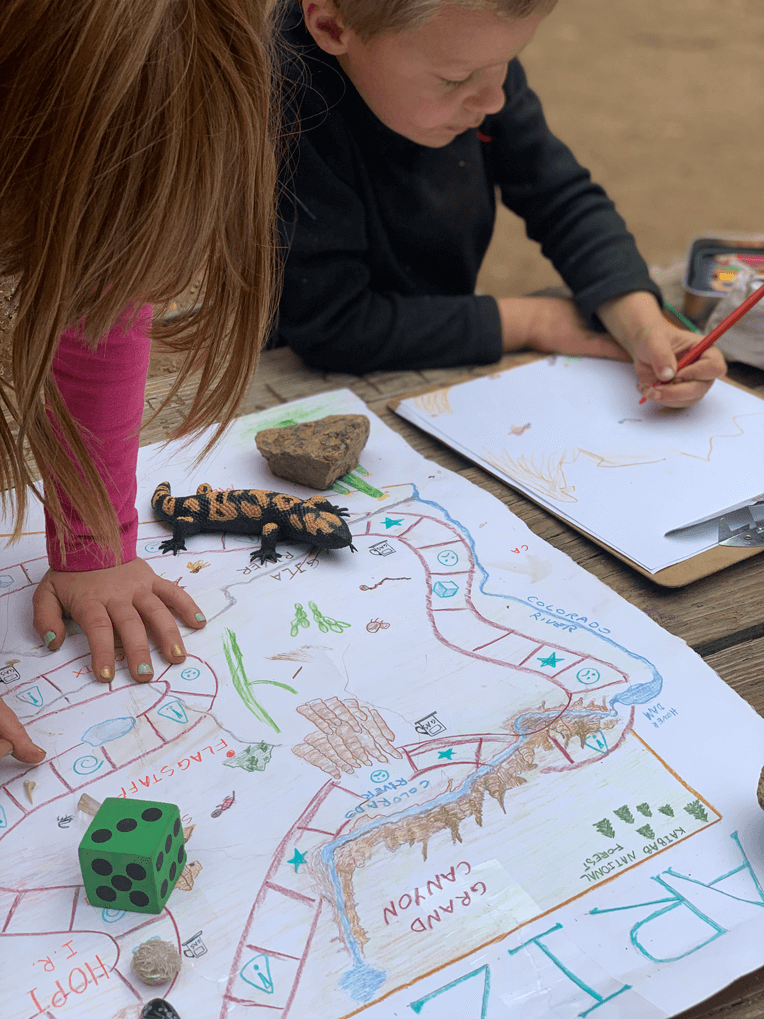 Colorado Springs outdoor learning school and nature kindergarten