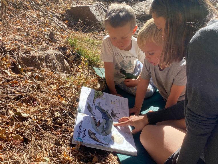 Colorado Springs forest school outdoor enrichment program