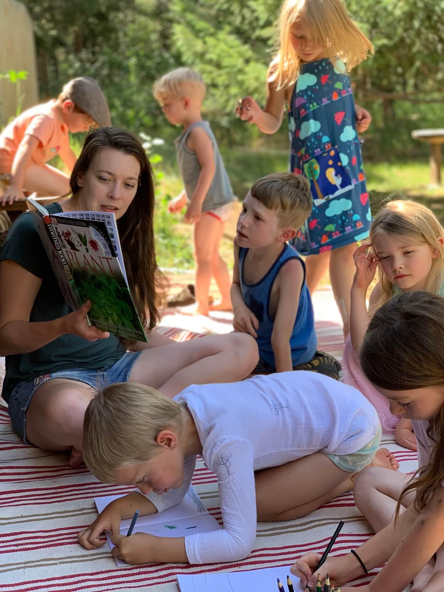 Colorado Springs forest school and outdoor school