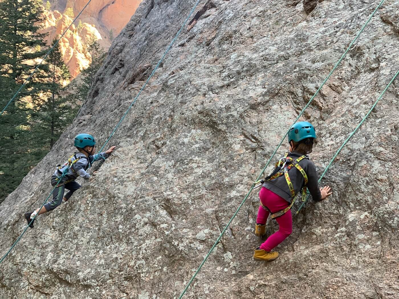rock climbing classes for children in Colorado Springs