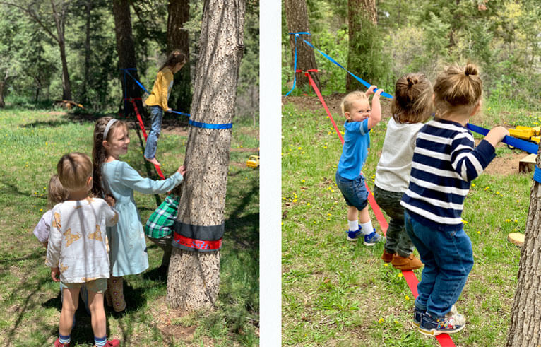 Colorado Springs outdoor kids program forest school daycare